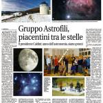 Il presidente Caldini: anno dell'Astronomia, siamo pronti.