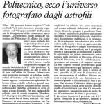 Cielo profondo, la conferenza tenuta da Danilo Caldini.