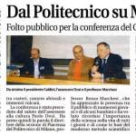 Folto pubblico per la conferenza del Gruppo Astrofili tenuta da Giuliano Gallazzi.