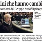 L'Universo nella mente, sei incontri promossi dal Gruppo Astrofili di Piacenza.