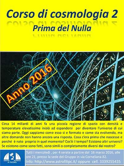 corso cosmologia 2016